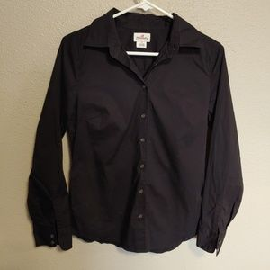J.Crew Haberdashery Stretch Button Down Top